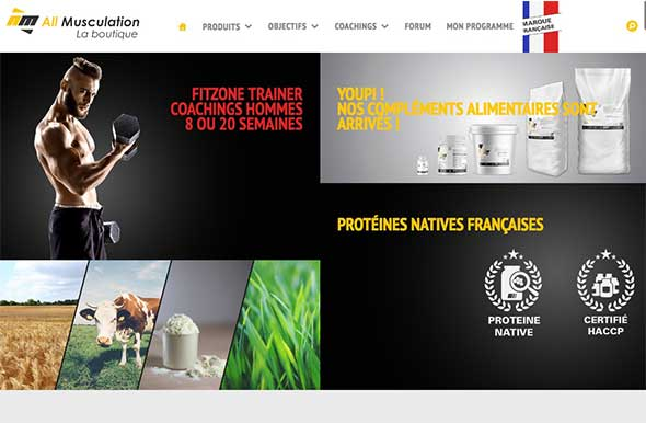 Boutique All-musculation