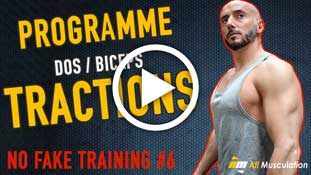 Programme Tractions Dos - Biceps