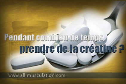 comment prendre creatine gelule