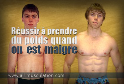 comment prendre du muscle quand on est maigre