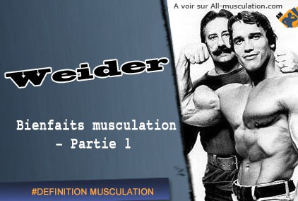 Les bienfaits de la musculation par Joe Wider