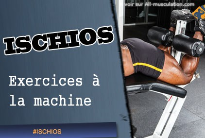 Exercices d'ischios-jambiers à la machine