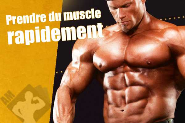 comment prendre volume musculaire