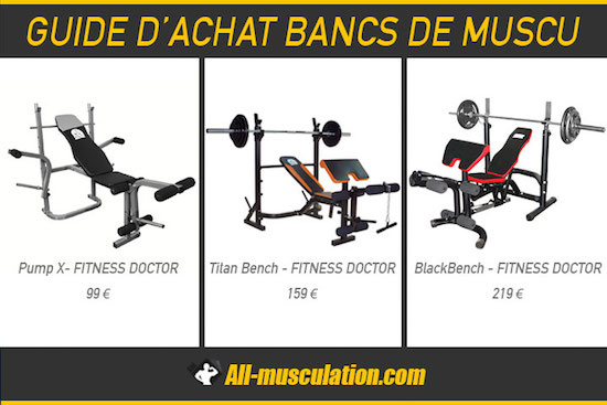 exemples d 39 exercices avec un banc de muscu. Black Bedroom Furniture Sets. Home Design Ideas