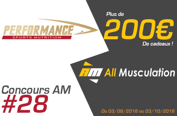 Concours Performance Nutrition