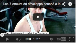Video developpé couché
