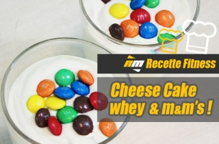 Recette : Cheesecake MMs Prot�in�