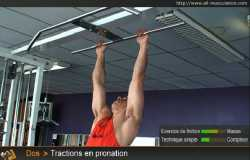 Tractions en pronation