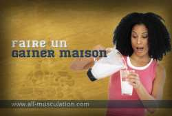 Comment faire un gainer maison ?
