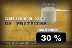 Définition : weight gainer à 30% de protéines