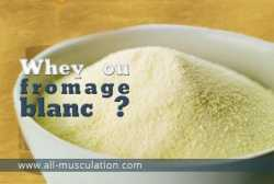 Whey ou fromage blanc ?