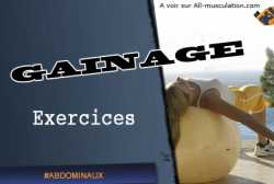 Exercices de gainage