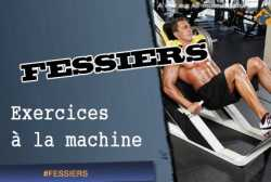 Exercices de fessiers a la machine