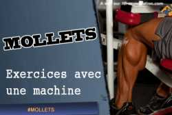 Exercices pour les mollets a la machine