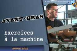 Exercices d'avant-bras à la poulie / machine