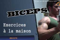 Exercices de biceps a la maison
