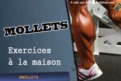 Exercices de mollets a la maison