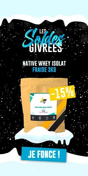 whey native fraise