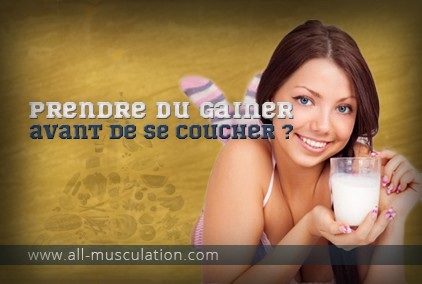 Weight Gainer le soir