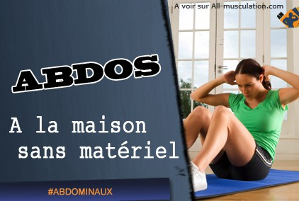Faire des abdos sans mat riel c 39 est possible for Abdos fessiers a la maison