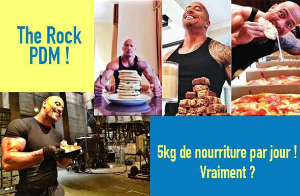 Prise masse The Rock