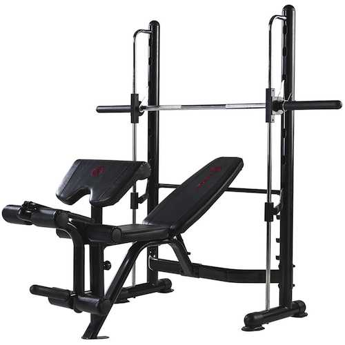 Meilleur banc guid smith machine de musculation - Banc de developpe couche professionnel ...