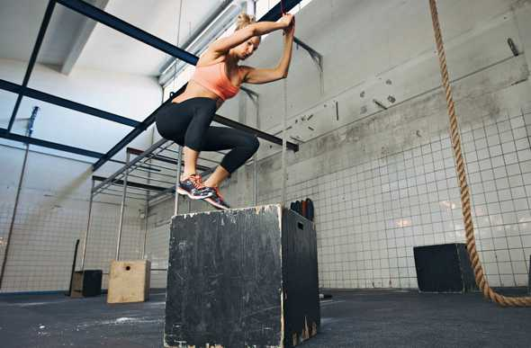 Les Box Jumps en CrossFit