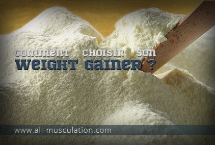 choisir son Weight Gainer